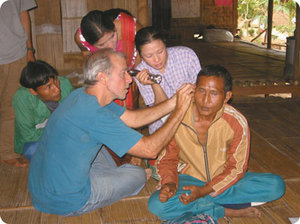Bringing Qi and Light To Burma - Copyright – Stock Photo / Register Mark