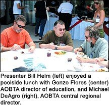 Bill Helm, Gonzo Flores and Michael DeAgro. - Copyright – Stock Photo / Register Mark