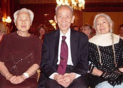 Shizuko Yamamoto, Micho Kushi and Toshiko Phipps. - Copyright – Stock Photo / Register Mark