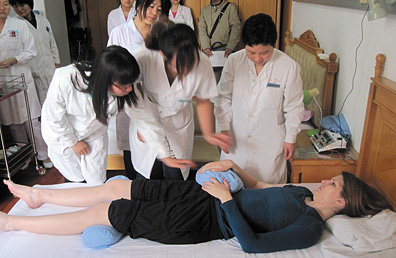 Acupuncture Today in China - Copyright – Stock Photo / Register Mark