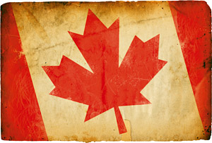 Canadian flag - Copyright – Stock Photo / Register Mark