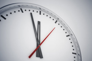 Less Time Than Required - Copyright – Stock Photo / Register Mark