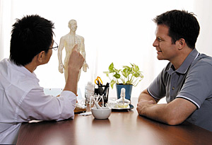 patient consultation - Copyright – Stock Photo / Register Mark