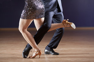 Dealing with Parkinson's? Reach for Those Dancing Shoes - Copyright – Stock Photo / Register Mark