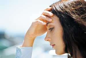 headache - Copyright – Stock Photo / Register Mark