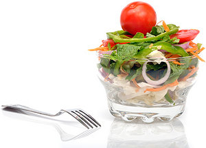 healthy eater - Copyright – Stock Photo / Register Mark