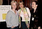 Trish Mitchell, Charlotte Sobeck and Lynda Shannon at the Southwest Symposium. - Copyright – Stock Photo / Register Mark