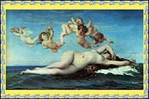 The Birth of Venus by Alexandre Canabel. - Copyright – Stock Photo / Register Mark